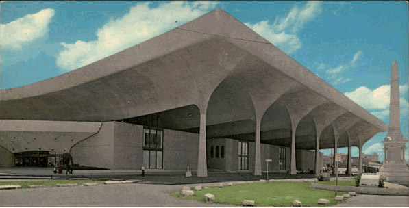 Plans Submitted For Rivergate Convention Center 1964